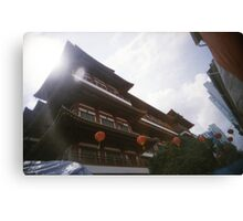 Buddha Tooth Relic Temple - Lomo Canvas Print