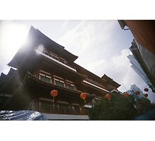 Buddha Tooth Relic Temple - Lomo Photographic Print