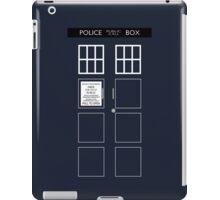 TARDIS Front iPad Case/Skin