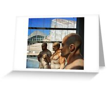 Sculpture exhibition Greeting Card