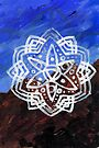 Mountain Streams Mandala by Daniel ML