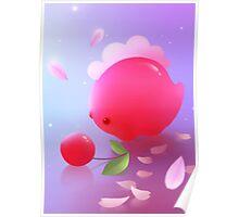 Sakura Dino Poster
