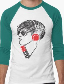 Dubstep Girl Men's Baseball ¾ T-Shirt