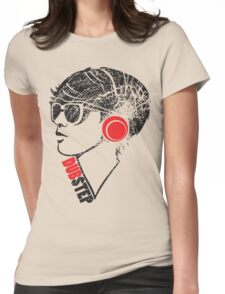 Dubstep Girl Womens Fitted T-Shirt
