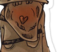Grunts only want your love Sticker