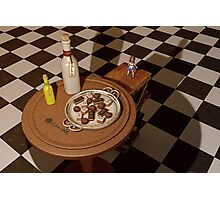 Alice in Wonderland - A Curious Hall Redux Photographic Print