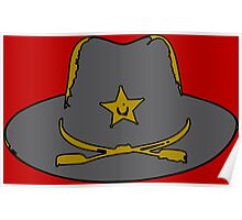 Sheriff hat Poster