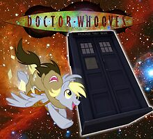Doctor Whooves poster by ButtercupSaiyan