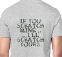 FATHERS DAY GIFT - THE  BACK SCRATCHER KIT! Unisex T-Shirt