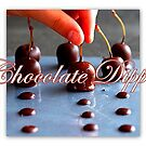 Brandied Chocolate Dipped Cherries by ©The Creative  Minds