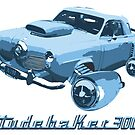 Studebaker 3000 (Blue) by Bill Cournoyer