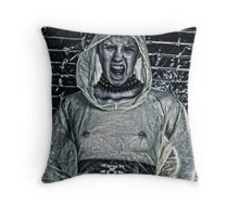 The Yell  Throw Pillow