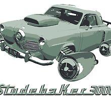 Studebaker 3000 (Green) by Bill Cournoyer