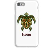 Golden Hawaiian Green Sea Turtle iPhone Case/Skin
