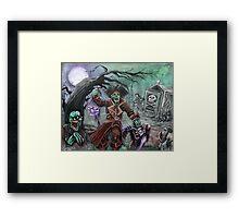 Pirate's Graveyard 2 Framed Print