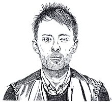 thom yorke by David Cutler