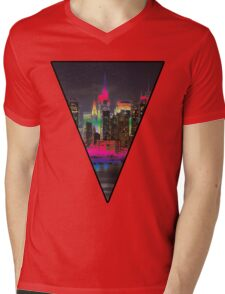 The City Mens V-Neck T-Shirt