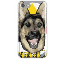 A dog named Steeler iPhone Case/Skin