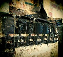 Corroded Fuse Box by Fotomus-Digital
