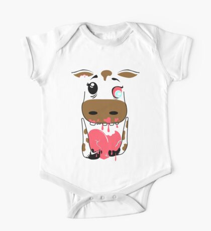 Zombie Animals COW Kids Clothes