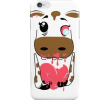 Zombie Animals COW iPhone Case/Skin