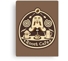 Roost Cafe Canvas Print