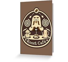 Roost Cafe Greeting Card