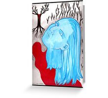Ghost of a Murder Victim Greeting Card