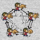 Alex Kidd's Rock-Paper-Scissors-Lizard-Spock [remake] by SergioDoe