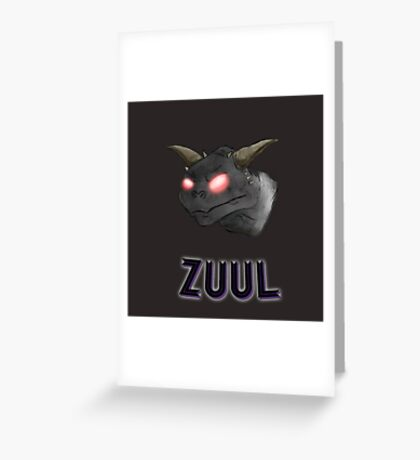 There is no Dana, only Zuul. Greeting Card