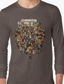 Super Breaking Bad Long Sleeve T-Shirt