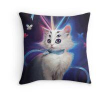 Buttons the Cat Throw Pillow