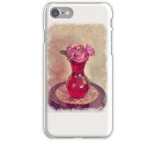 Red Vase iPhone Case/Skin