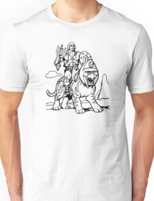 He-Man & Battlecat Unisex T-Shirt