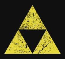 Distressed Triforce by creepyjoe