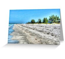 Beachfront Greeting Card