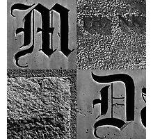 Typography: Dallas Photographic Print
