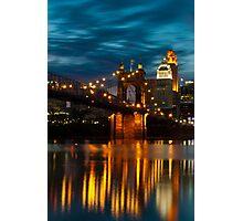 Cincinnati Reflection Photographic Print