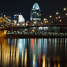 Cincinnati at Night by thatche2