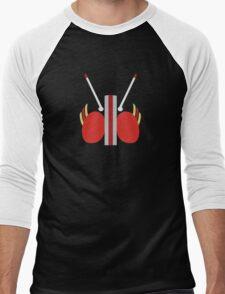 Kamen Rider Black Men's Baseball ¾ T-Shirt