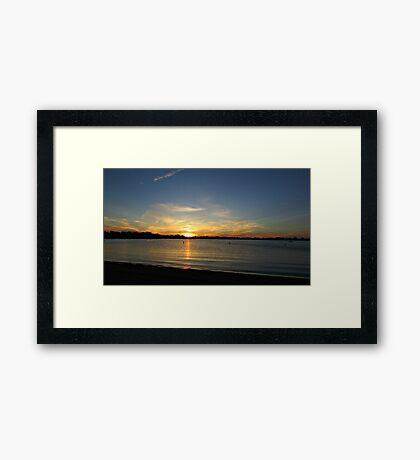 Placid Moments Framed Print