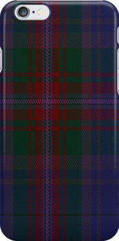 02424 Doane Tartan Fabric Print Iphone Case by Detnecs2013