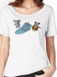 Kat's Icing Animals Women's Relaxed Fit T-Shirt