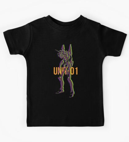 Duotone Overprint series: Unit-01  Kids Tee