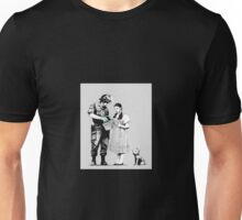 """Stop and Search - Banksy  Unisex T-Shirt"