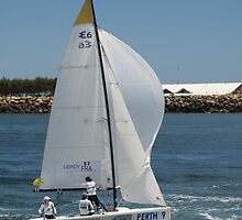 France Sailing Fremantle by kalaryder