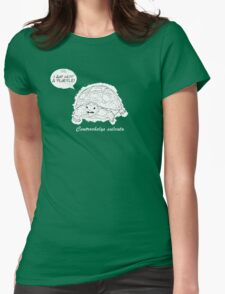 I am not a turtle! Womens Fitted T-Shirt