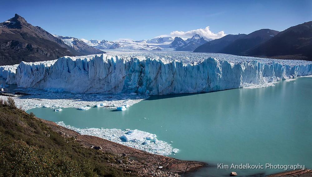 Perito Moreno Glacier by Kim Andelkovic