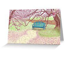 magnolia trees Greeting Card