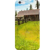 Old Barn in California iPhone Case/Skin